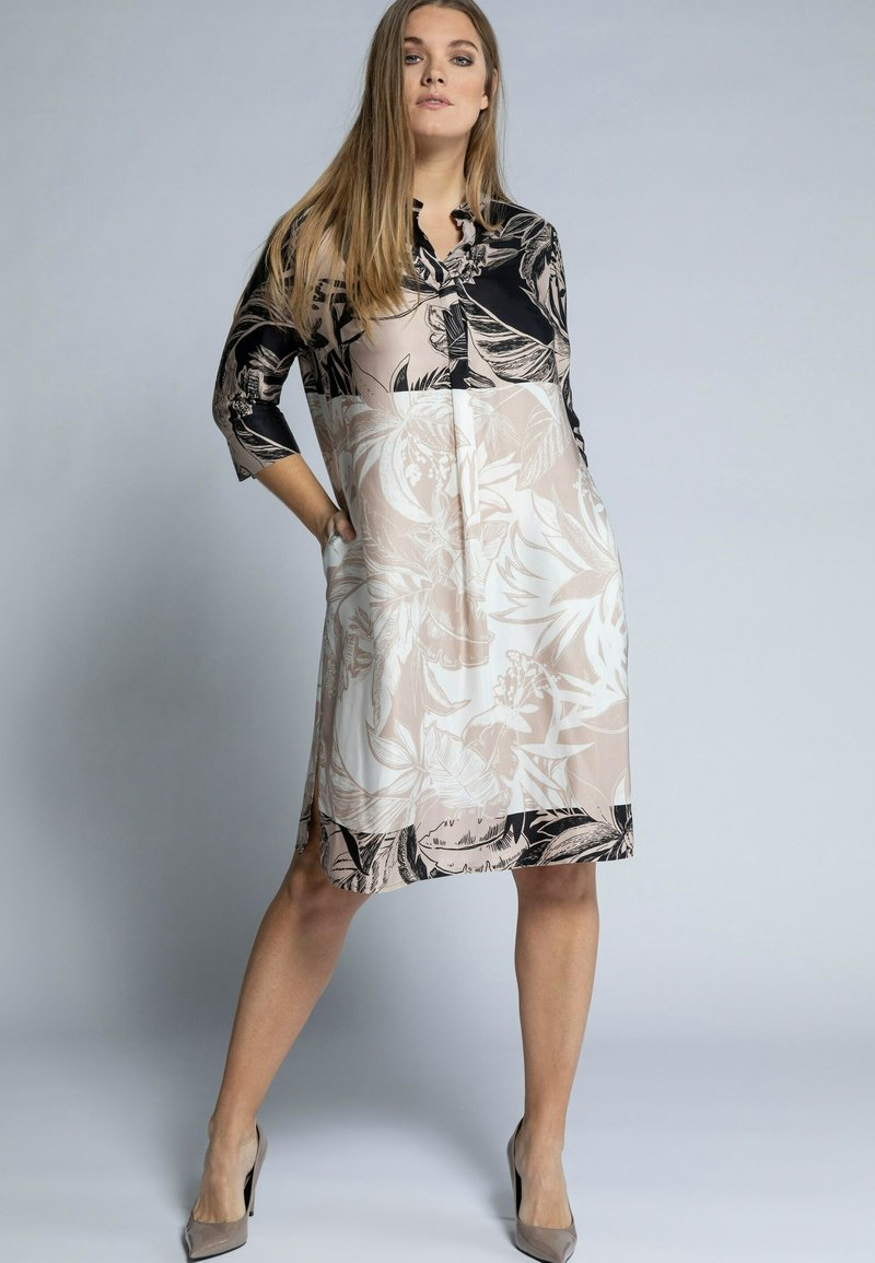 Ulla Popken - Shirt dress - sand