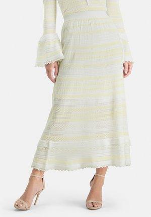 SANAWO - A-line skirt - white