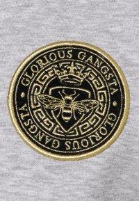 Glorious Gangsta - ABELLO ZIP THROUGH HOOD - Felpa con zip - grey marl - 6