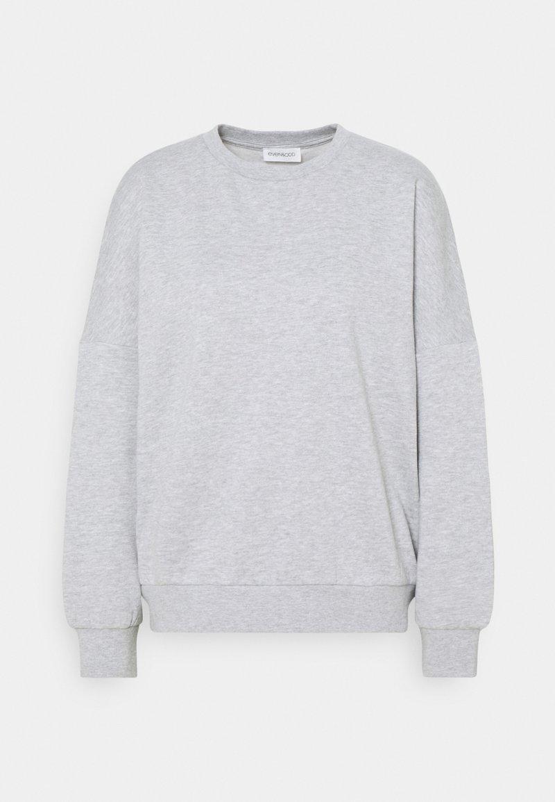 Even&Odd - OVERSIZED CREW NECK SWEATSHIRT - Mikina - mottled light grey