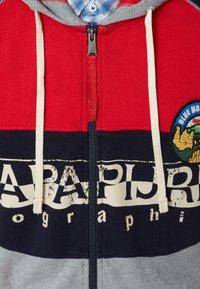 Napapijri - BISHOP - Sudadera con cremallera - bright red - 3