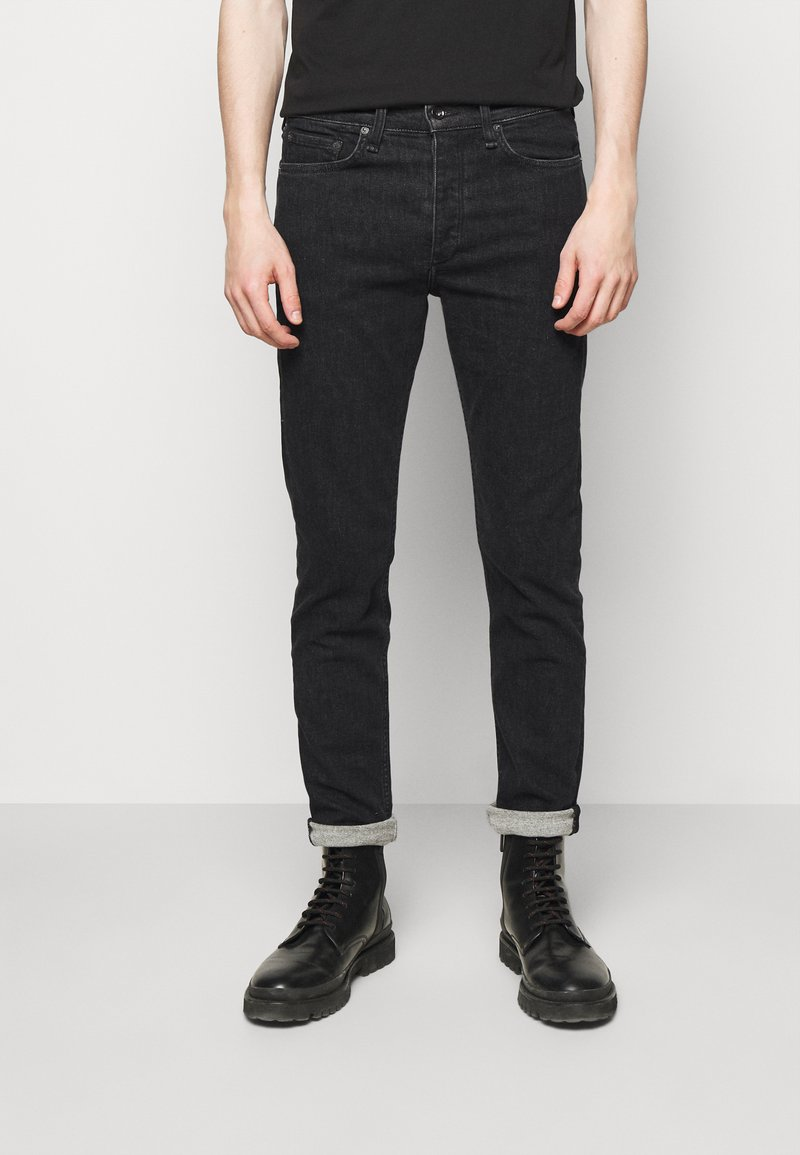 rag & bone - FIT  - Džíny Slim Fit - black