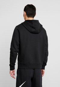 Nike Sportswear - HOODIE AIR - Jersey con capucha - black/white - 2