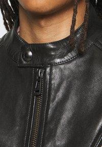 Belstaff - RACER JACKET - Leather jacket - black - 9