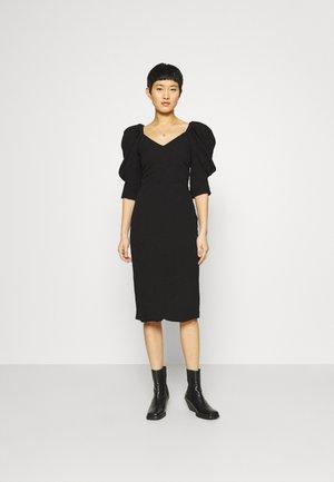BONNIE DRESS - Shift dress - black