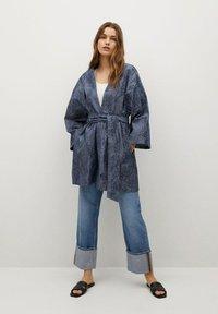 Mango - Summer jacket - dunkles marineblau - 1