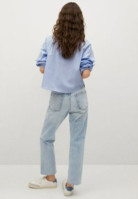 Mango - Straight leg jeans - light blue - 2