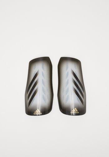 Shin pads - greone/black/gold