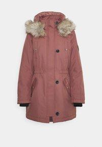 ONLIRIS  - Winter coat - burlwood