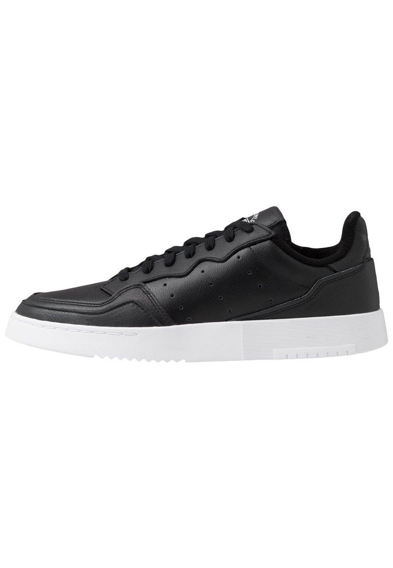 adidas Originals - SUPERCOURT - Sneakersy niskie - cblack/cblack/ftwwht