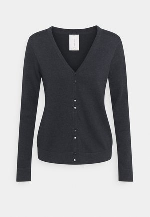 LOREN CARDIGAN - Kardigan - midnight navy