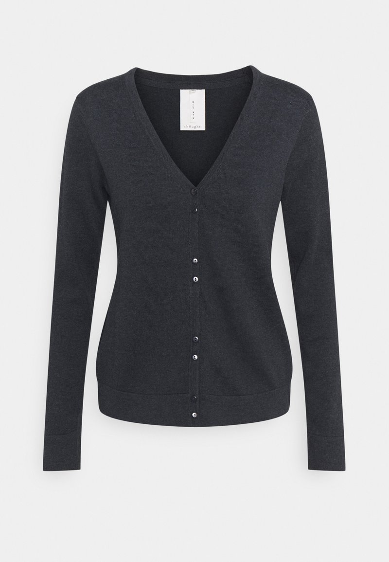 Thought - LOREN CARDIGAN - Cardigan - midnight navy