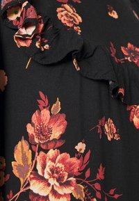 New Look - BAILEY FLORAL MINI - Vestito estivo - black - 6