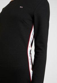 Tommy Jeans - TJW TAPE DETAIL BODYCON DRESS - Shift dress - tommy black - 5