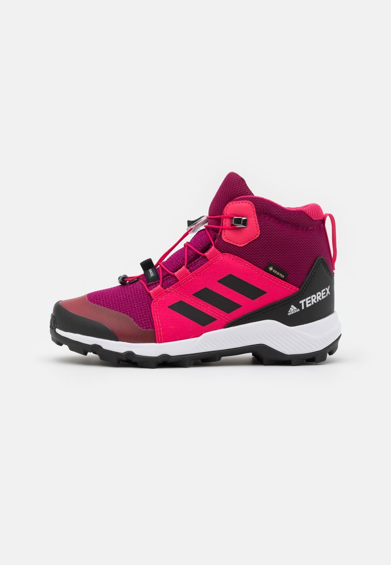 adidas Performance - TERREX MID GTX UNISEX - Hiking shoes - power berry/core black