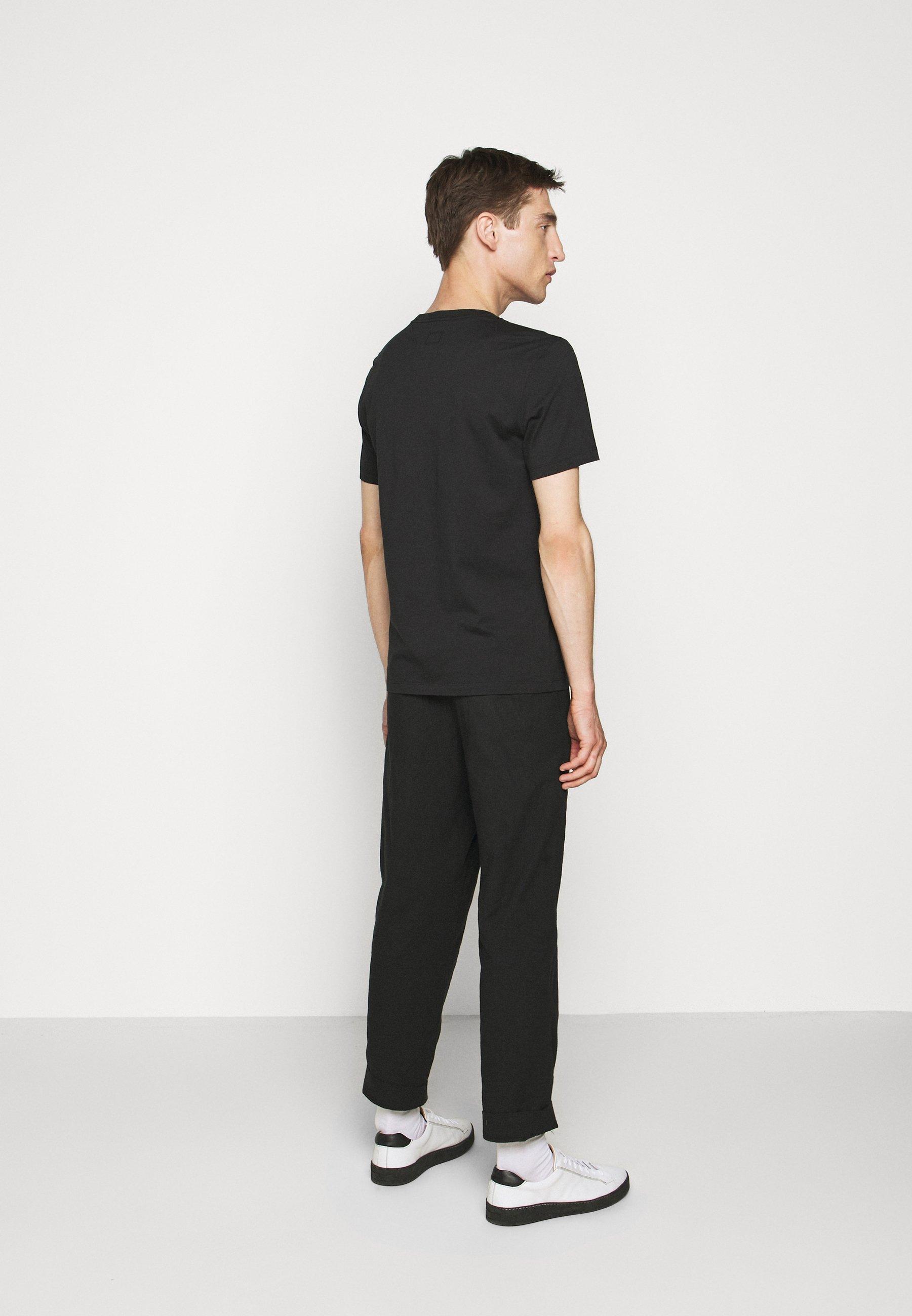 C.P. Company SHORT SLEEVE - Print T-shirt - black VbC3J