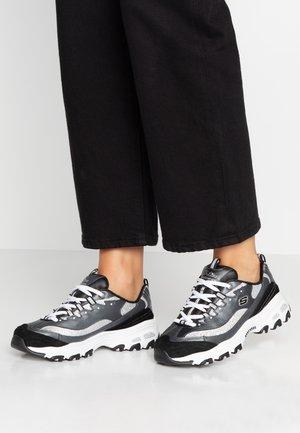 D'LITES - Trainers - black/silver glitter/white
