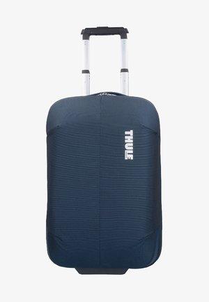 SUBTERRA - Wheeled suitcase - dark blue