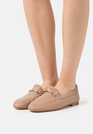 AVIANA 1 - Slip-ons - brume/gold/natural