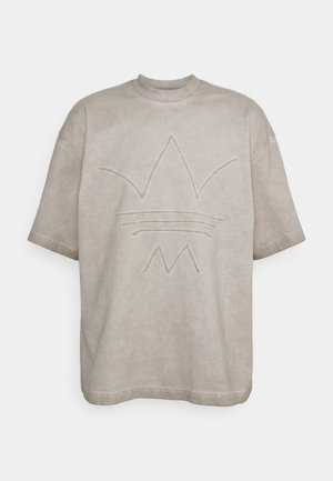 ABSTRACT TEE - T-shirt med print - timber