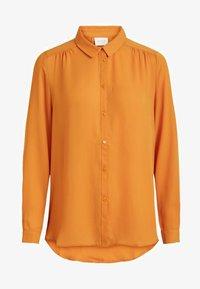 Vila - VILUCY - Button-down blouse - golden oak - 0