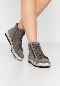 Gabor - High-top trainers - wallaby - 0