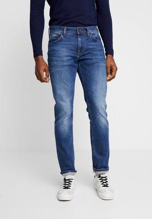 DOUGLAS - Straight leg jeans - stone used