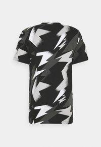 Jordan - JUMPMAN AIR CREW - T-shirt con stampa - black/white - 1