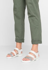 ECCO - FLASH - Sandals - wild dove/white shadow/white - 0