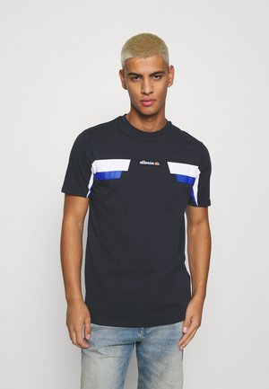 FELLION TEE - Print T-shirt - navy