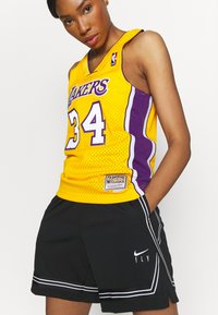 Mitchell & Ness - NBA LOS ANGELES LAKERS WOMENS SWINGMAN SHAQUILLE ONEAL  - Club wear - yellow - 3