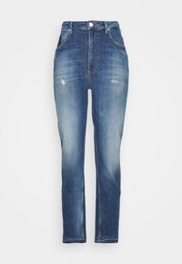 Guess - MOM  - Straight leg jeans - blue denim - 0