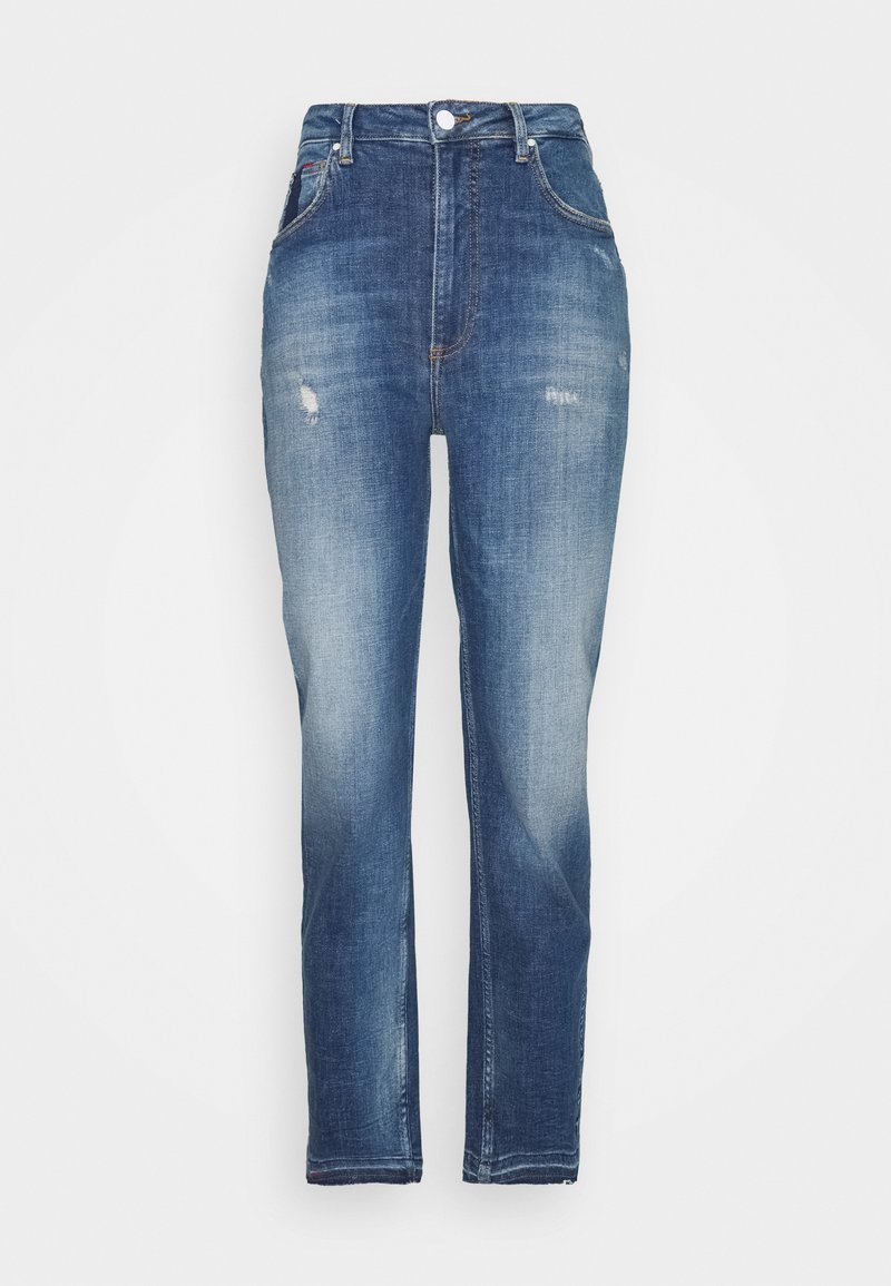 Guess - MOM  - Straight leg jeans - blue denim