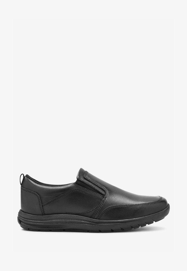 Loaferit/pistokkaat - metallic black