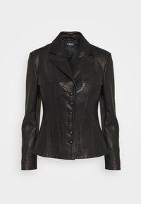 The Kooples - Leather jacket - black - 0