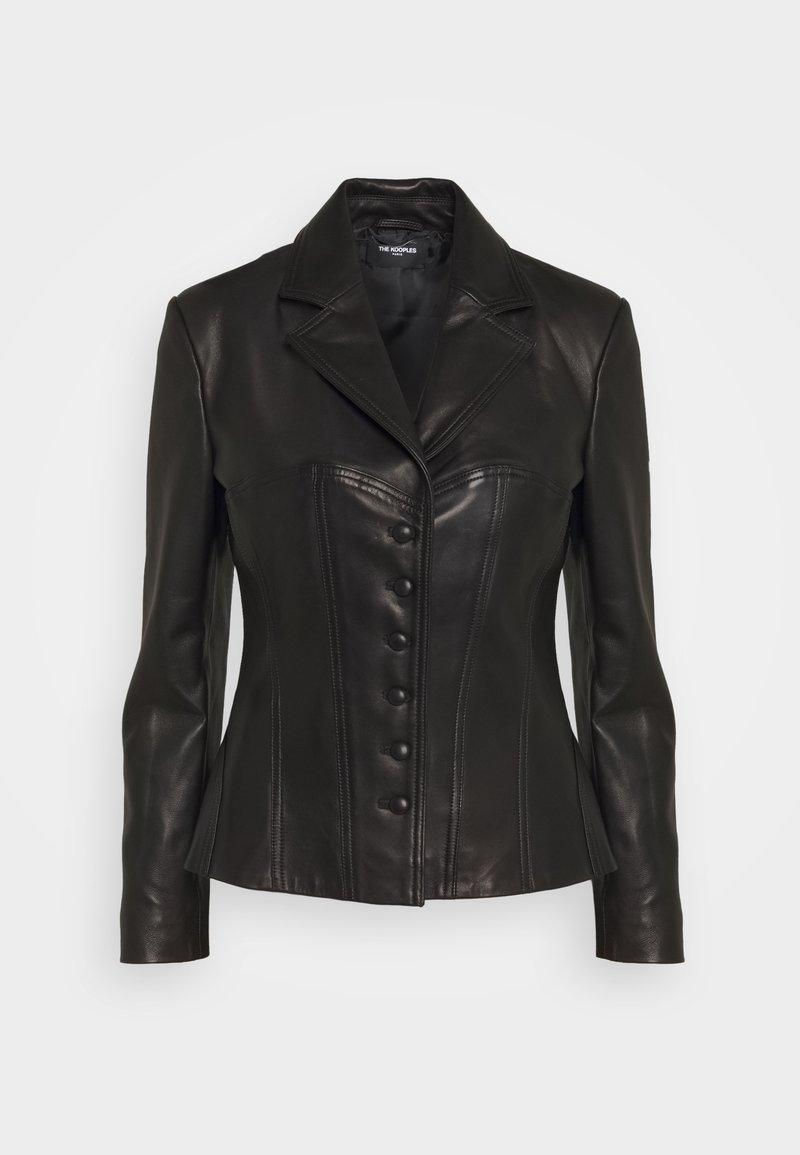 The Kooples - Leather jacket - black