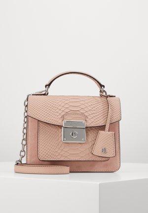 MATTE PYTHON - Handbag - mellow pink