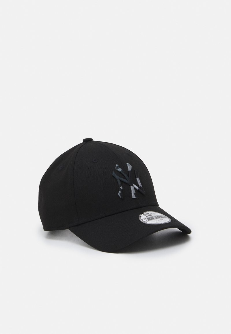New Era - CAMO INFILL 9FORTY NEW YORK YANKEES UNISEX - Kšiltovka - black