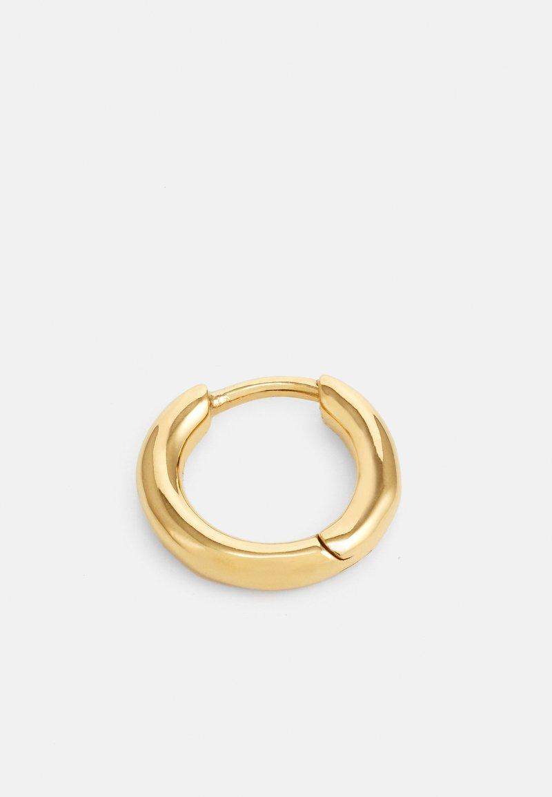 Maria Black - MARCO HUGGIE UNISEX SINGLE - Ohrringe - gold-coloured