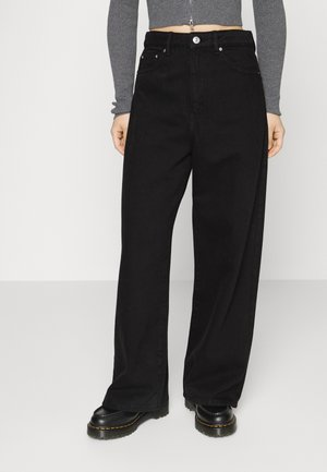 IDUN - Relaxed fit jeans - black
