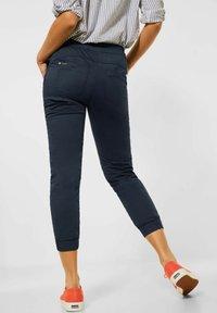 Street One - MIT TUNNELZUG - Trousers - blau - 1