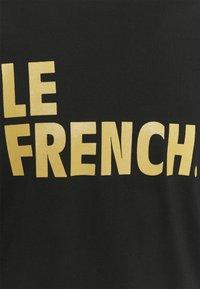 Les Petits Basics - LONGSLEEVE LE FRENCH UNISEX - Long sleeved top - black - 2