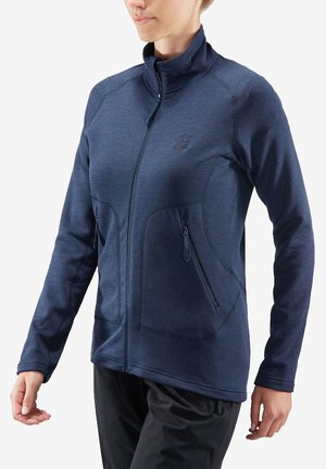 HERON - Fleece jacket - blue