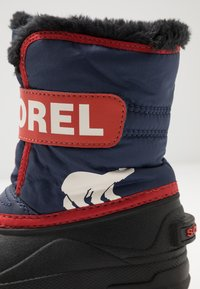 Sorel - CHILDRENS - Zimní obuv - nocturnal/sail red - 2