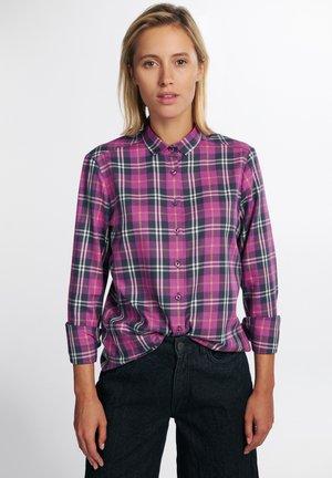 LANGARM  MODERN CLASSIC - Button-down blouse - lila
