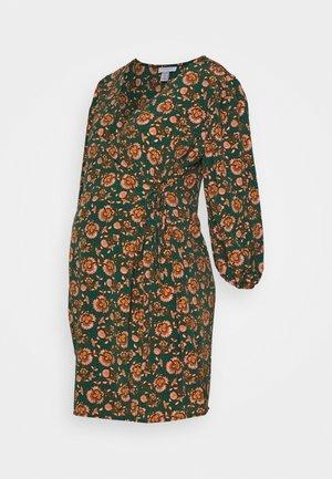 WILLIAM MORRIS WRAP DRESS - Jersey dress - green