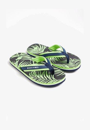 MET DESSIN - T-bar sandals - bright green