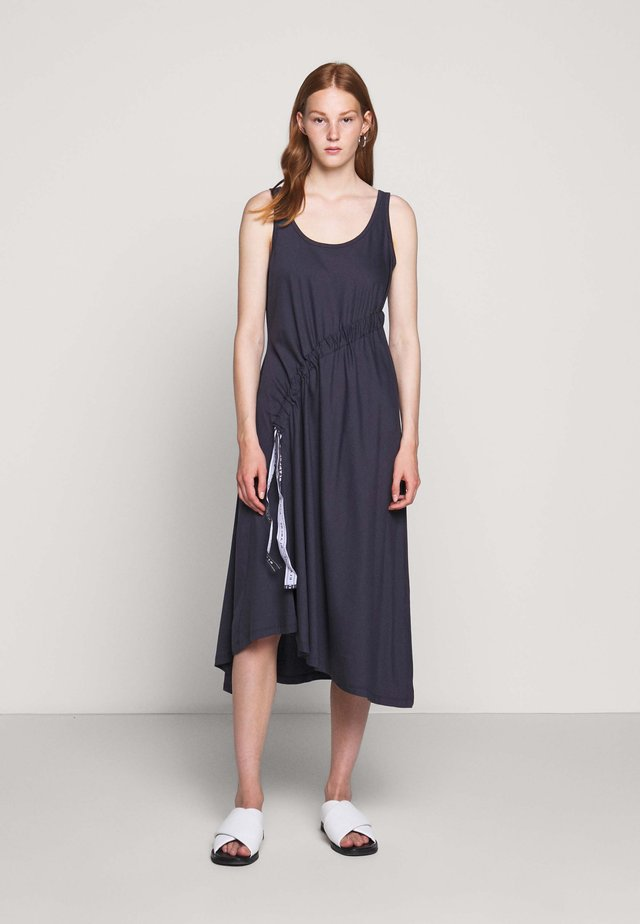 DRAW DRESS TANK - Day dress - graphite