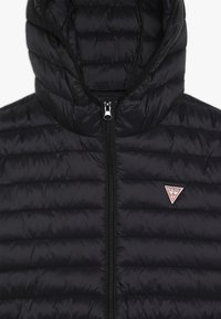 Guess - JUNIOR UNISEX PADDED PUFFER - Zimní bunda - jet black - 2