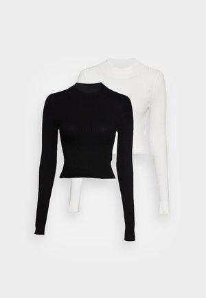 2-PACK  - Svetr - black/white